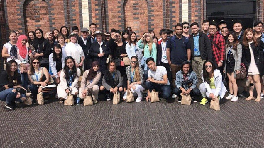 MEC students in UK for Exchange programme