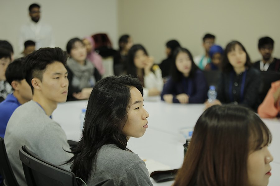 Hanyang University Students in Middle East College