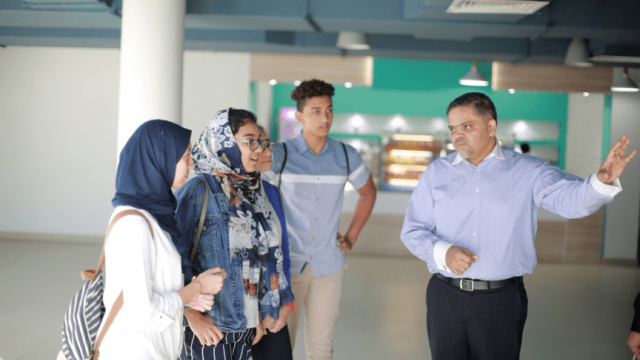 BSM students at Middle East College