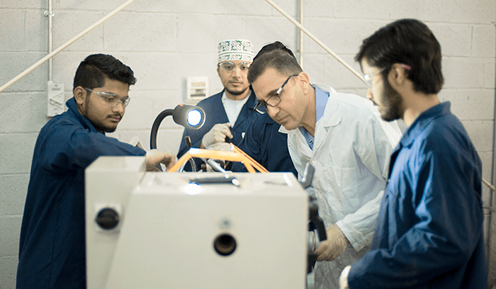 Study Mechanical Engineering in a top engineering college in Oman