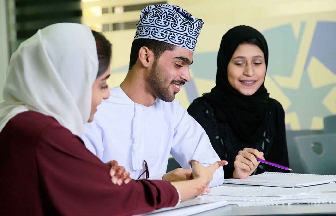 Undergraduate programmes at one of the best colleges in Oman