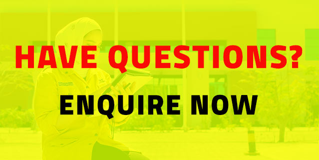 Have Questions? Enquire now